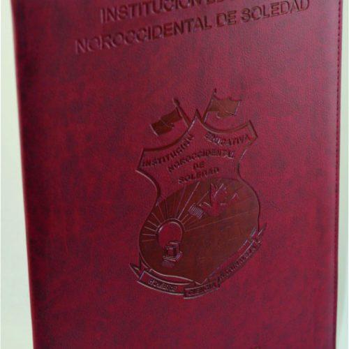 Porta Diplomas Repujados